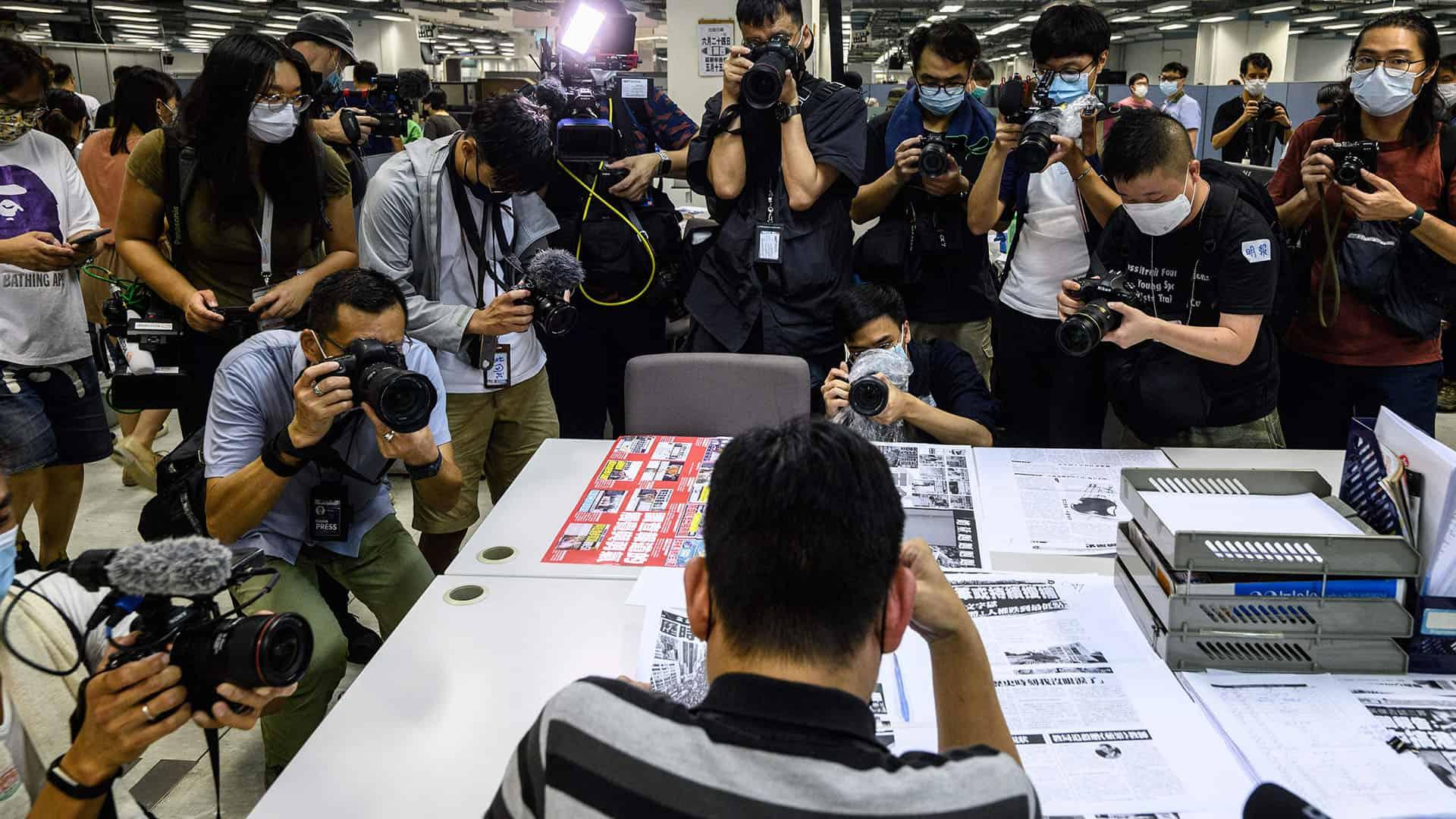 Lam Man-Chung, Apple Daily