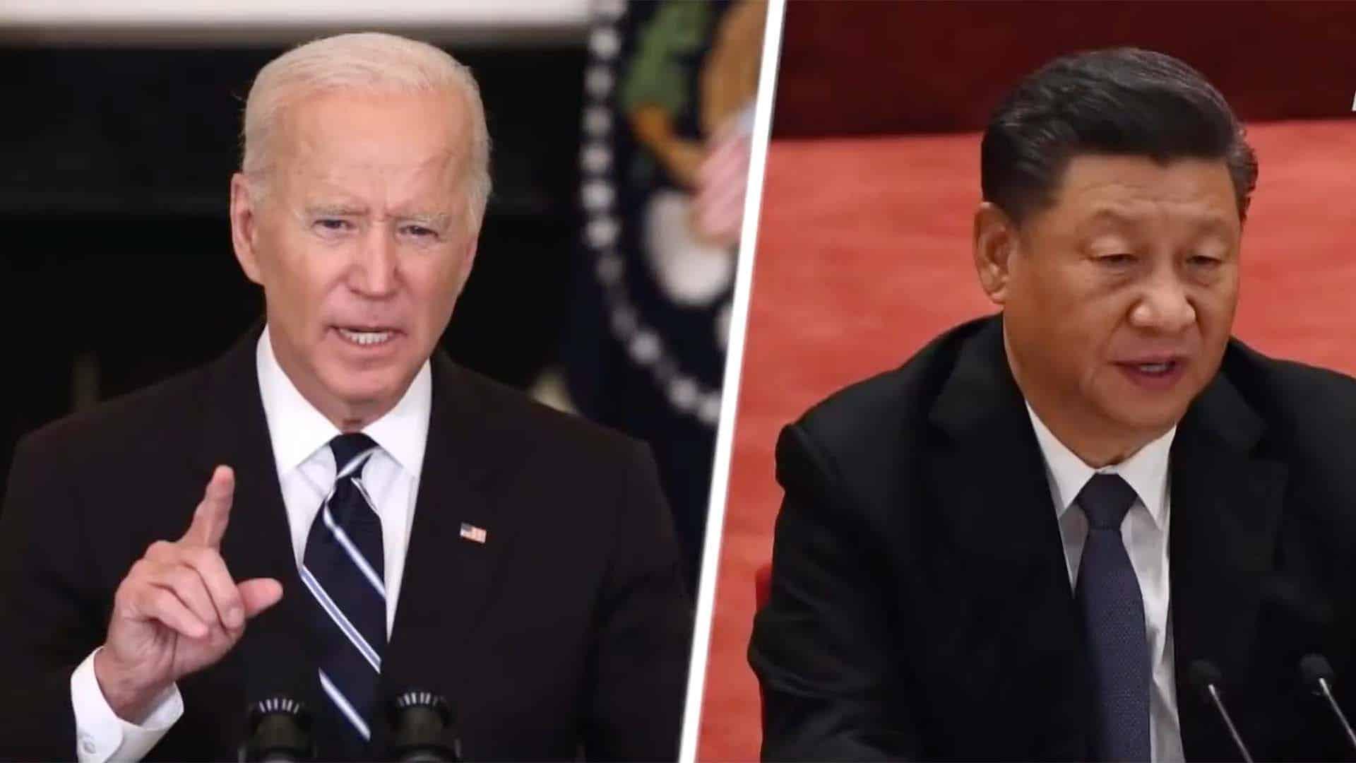 Biden - Xi Jinping