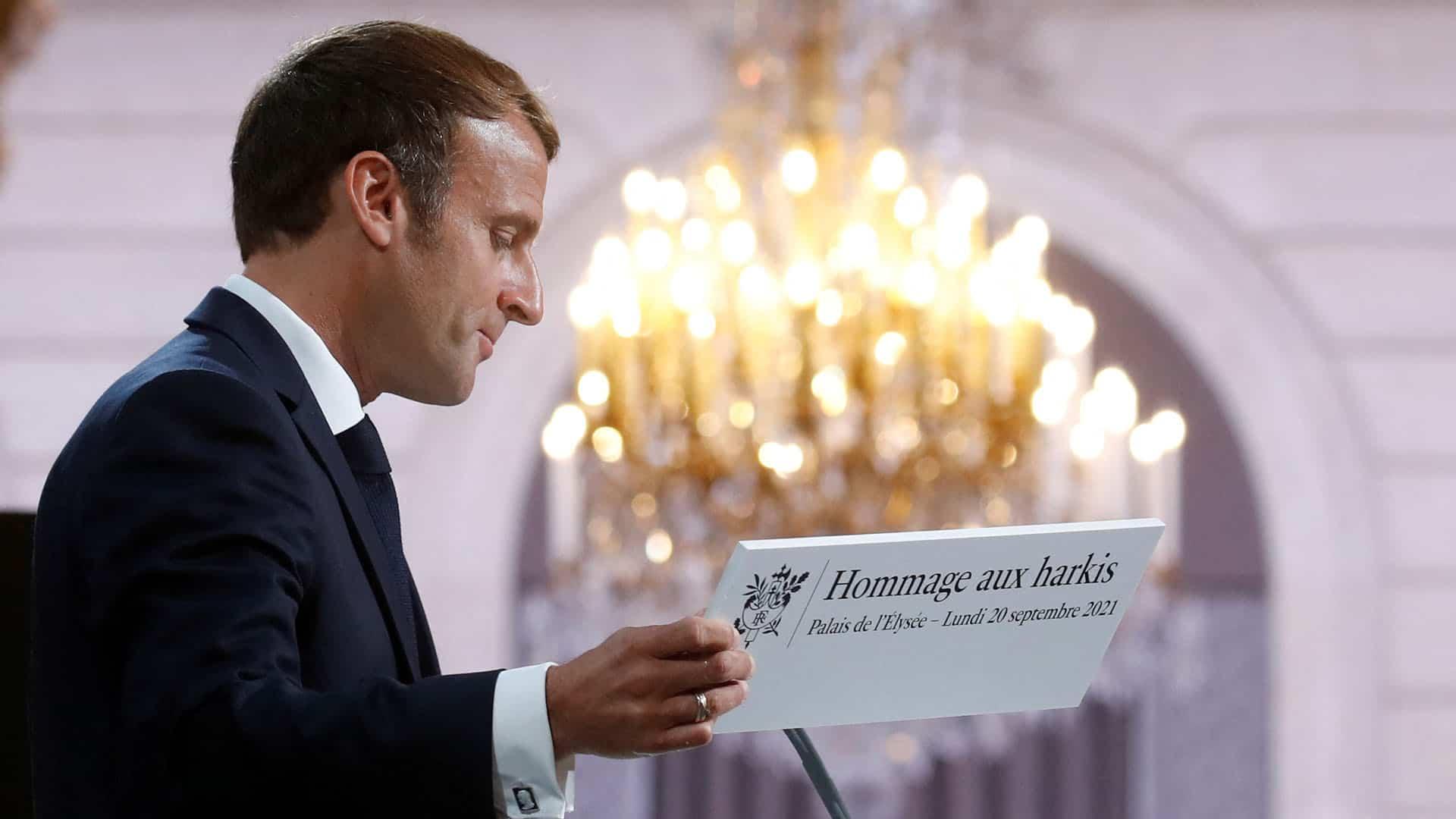 Macron - Harkis